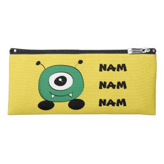 Cute Funny Green Alien Pencil Case