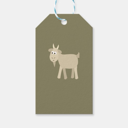 Cute Funny Little Goat Gift Tags