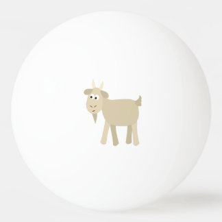 Cute Funny Little Goat Ping Pong Ball