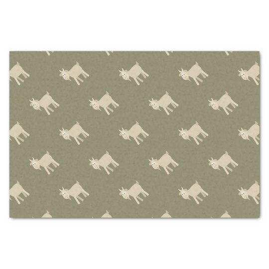 Cute Funny Little Goat Tissue Paper