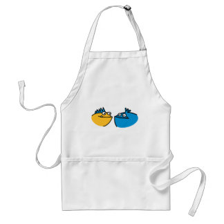 Cute funny monster aprons