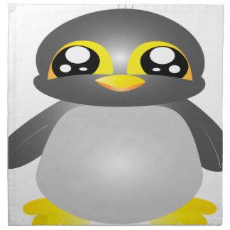 cute funny penguin animal napkin