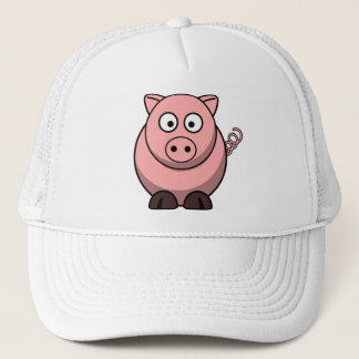 Cute Funny Pig Trucker Hat