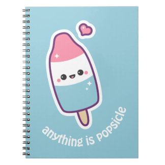 Cute Funny Popsicle Notebook