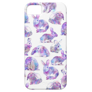 Cute funny rabbits iPhone 5 cover