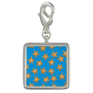 Cute funny sea cartoon star pattern charms
