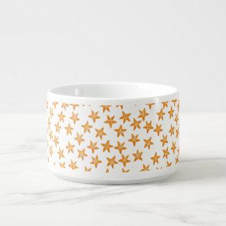 Cute funny sea cartoon star pattern chili bowl