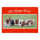 Cute & Funny Valentine's Day Card w/Basset Hounds