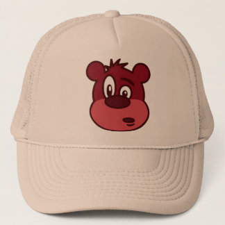 Cute Funny Winking Bear Trucker Hat