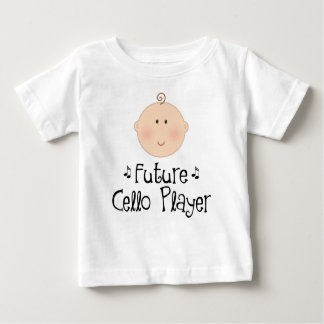 Cute Future Cello Player Baby T-Shirt