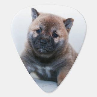 Cute Fuzzy Puppy Dog Guitar Pick