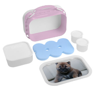 Cute Fuzzy Puppy Dog Lunch Box