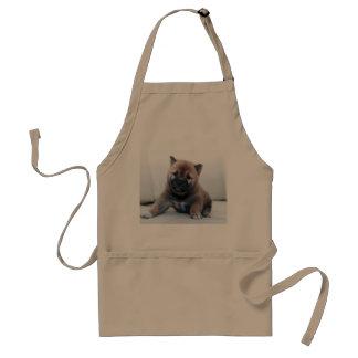 Cute Fuzzy Puppy Dog Standard Apron