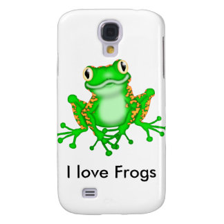 Cute Galaxy S4 Frog Cover