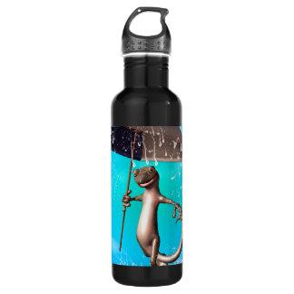 Cute gecko 710 ml water bottle