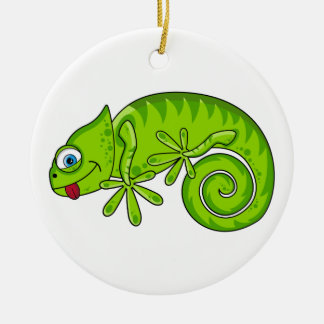 Cute Gecko Ornament