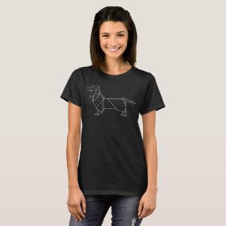 Cute Geometric Dachshund Shirt