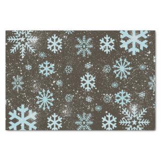 Cute Geometric Snowflake Snow Winter Tissue Paper