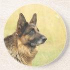 Cute German Shepherd Coaster