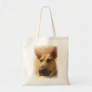 Cute German Shepherd Tote