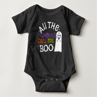 Cute Ghost and Ghouls Halloween Tee Shirt
