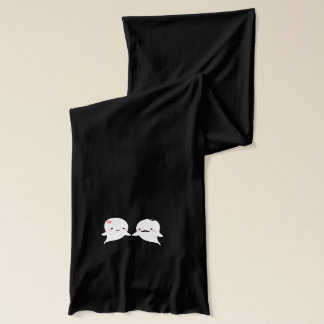 Cute Ghost Couple Scarf