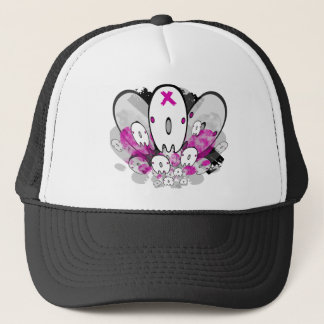 cute ghost design 2 no text trucker hat