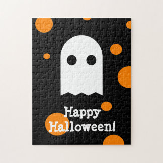 Cute Ghost Kids Halloween Puzzles