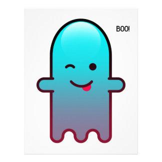 Cute Ghost Letterhead