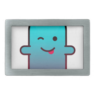 Cute Ghost Rectangular Belt Buckles