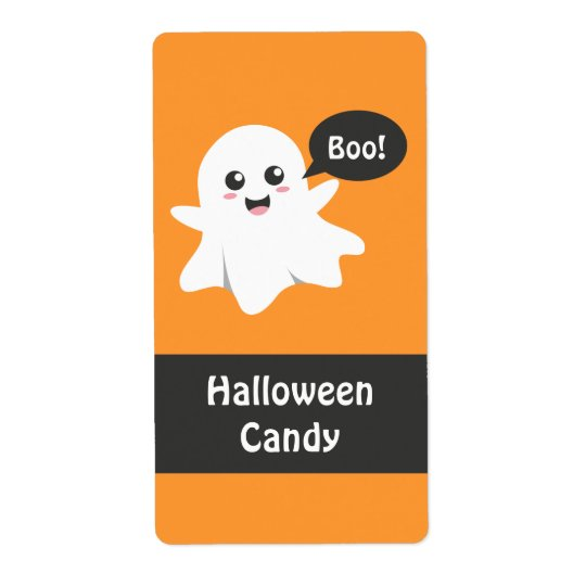 Cute Ghost that Goes Boo, Happy Halloween