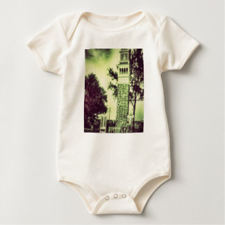 Cute Ghost Tower Infant Creeper cute