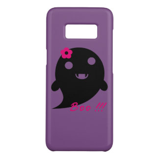 "Cute  Ghost With Flower And Word ""Boo"" Case-Mate Samsung Galaxy S8 Case"