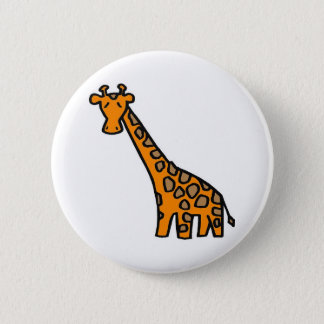 Cute Giaffe Button