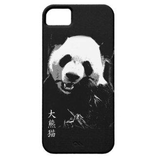 Cute Giant Panda Bear Cub Eating Bamboo Leaves iPhone 5 Case