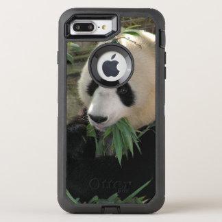Cute giant panda bear OtterBox defender iPhone 8 plus/7 plus case