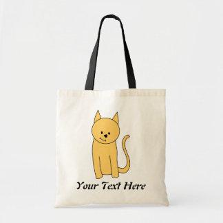 Cute Ginger Cat. Tote Bag