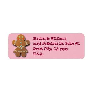 Cute Gingerbread Cookie