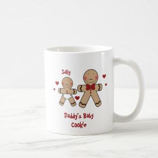 Cute Gingerbread Cookies Cartoon Coffee Mug