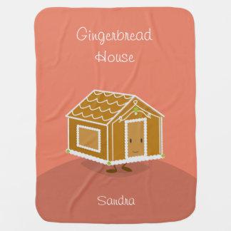 Cute Gingerbread House | Baby Blanket
