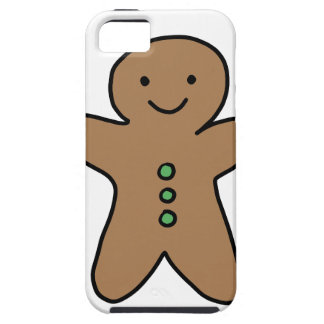 CUTE GINGERBREAD MAN iPhone 5 CASE