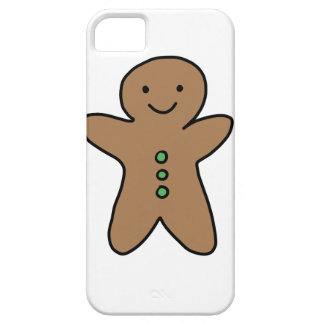 CUTE GINGERBREAD MAN iPhone 5 COVER
