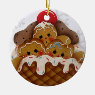 Cute Gingers Cherry on Top Ornament
