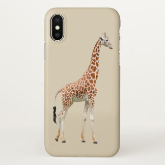 Cute Giraffe Animal Theme iPhone X Case