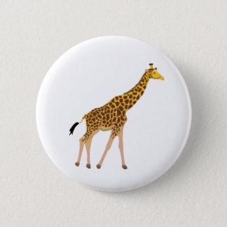 Cute Giraffe Button