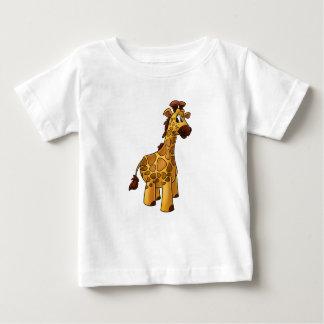Cute giraffe cartoon baby shirt