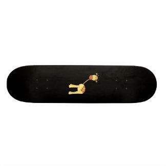 Cute Giraffe. Cartoon. Custom Skate Board