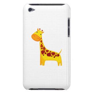 Cute giraffe cartoon iPod touch cases