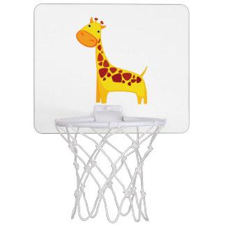 Cute giraffe cartoon mini basketball hoop