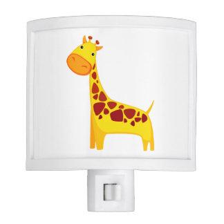 Cute giraffe cartoon nite lites